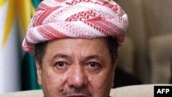 رئيبس اقليم كردستان العراق مسعود بارزاني