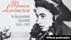 Romania--Cover of the book titled Monica Lovinescu in the Documents of the Securitate 1949-1989.