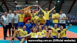 На чемпіонаті Європи 2019 року українська чоловіча збірна стрибнула вище голови