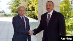 Ilham Əliyev və Vladimir Putin