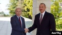İlham Əliyev, Vladimir Putin