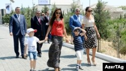 Records show Leyla and Arzu Aliyeva control 56 percent of the lucrative mining consortium.