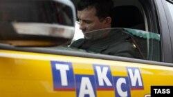 Такси в Москве. Иллюстративное фото.