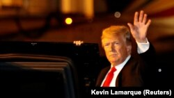 دونالد ترمپ رئیس جمهور ایالات متحدۀ امریکا