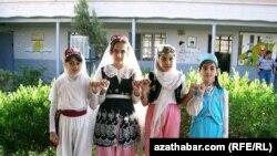 Yrak türkmen gyzjagazlary