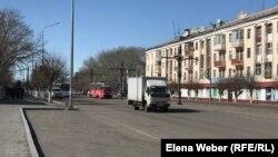 Город Темиртау во время карантина. Иллюстративное фото.