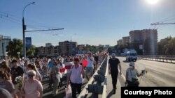 بلاروس کې مظاهره