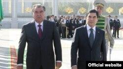 Эмомали Рахмон и Гурбангулы Бердымухамедов