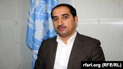 نظیف الله سالارزی سخنگوی دفتر یونما در کابل.