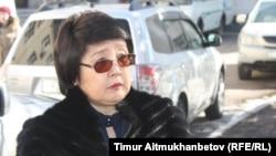 Зауреш Батталова, председатель президиума политсовета ОСДП. Астана, 7 апреля 2017 года.