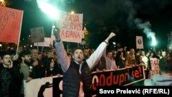 Sedmi protest u Podgorici