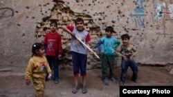 حسين عامر ورفاقه من محلة الفضل ببغداد