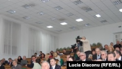 Moldova - Meeting of hospital directors, Chisinau, 21April2011