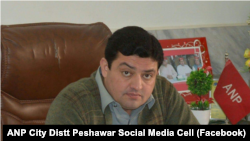 The secular Awami National Party (ANP) city district's president, Sartaj Khan, was shot dead in Peshawar on June 29.