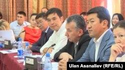 Баш мыйзам боюнча өткөн тегерек стол. Бишкек. 24-август.