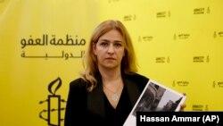 Анна Нейстат. Бейрут, 12-октябрь, 2018-жыл.