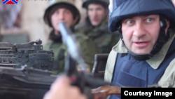 Російський актор Михайло Пореченков у Донецьку