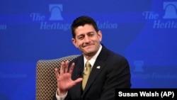 Спикер палаты представителей конгресса США Пол Райан.