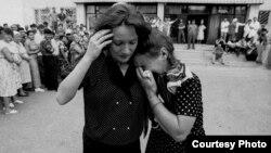 1995-ci il girov böhranını əks etdirən tarixi fotolardan biri