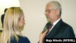 Aleksandar Mišo Broz u razgovoru sa novinarkom RSE Majom Nikolić
