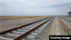 Railroad tracks in Iran - Undated