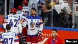 Російські гравці на чемпіонаті світу з хокею, 2015 рік