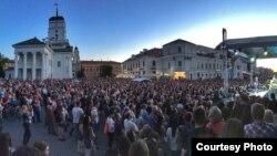 Джаз пад адкрытым небам у Менску, чэрвень 2015