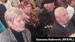 Bakira Hasečić i Husein Kurspahić na projekciji filma, foto: Dženana Halimović