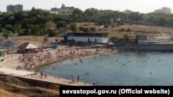 Пляж «Солнечный» в Севастополе