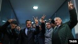 Во время церемонии открытия представительства Сирийского Курдистана в Москве. 10 февраля 2016 года.