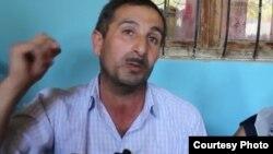 Отец погибшего солдата Дагыстан Аскеров
