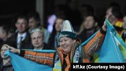 Казахстанские фанаты футбола