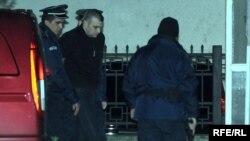 Hapšenje Dejana Šekularca u Pljevlju na osnovu srpske međunarodne poternice, foto: Savo Prelević