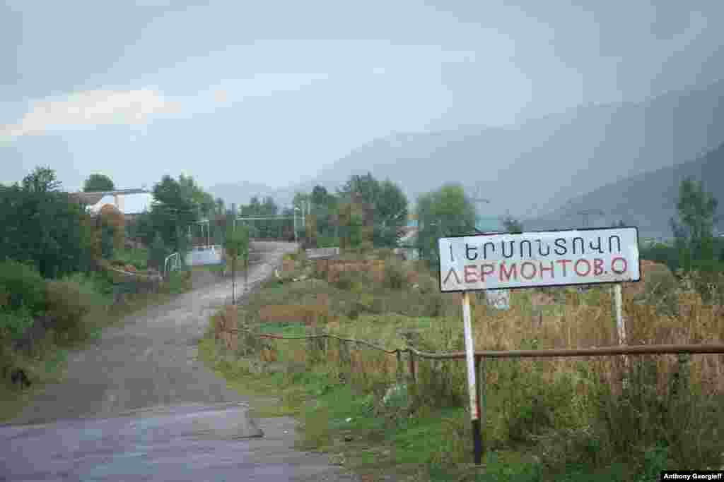 Lermontovo, in northern Armenia, is populated solely by Molokans.