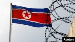 Flamuri i Koreë Veriore, foto nga arkivi