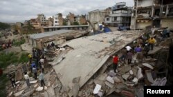 Shkatërrimet nga tërmeti i sotëm - Nepal