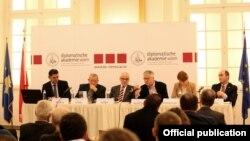 Pamje nga konferenca në Vjenë
