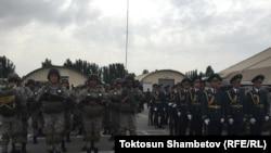 Учения национальной гвардии Кыргызстана. Бишкек, июль 2015 года. Иллюстративное фото.