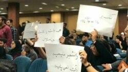 «آمار رسمی از دانشجویان بازداشتی وجود ندارد»