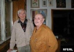 Мирослав Зикмунд (слева) и журналист Русской службы Радио Свобода Владимир Тольц