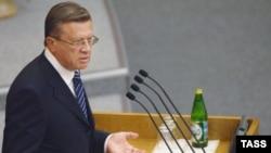 Viktor Zubkov Rusiyanın Baş naziridir