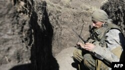Украина -- Донецкидеги украин аскери.