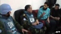 Vëzhguesit e OKB-së në Homs të Sirisë