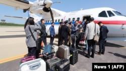 Strani novinari stižu u severnokorejski grad Vonsan