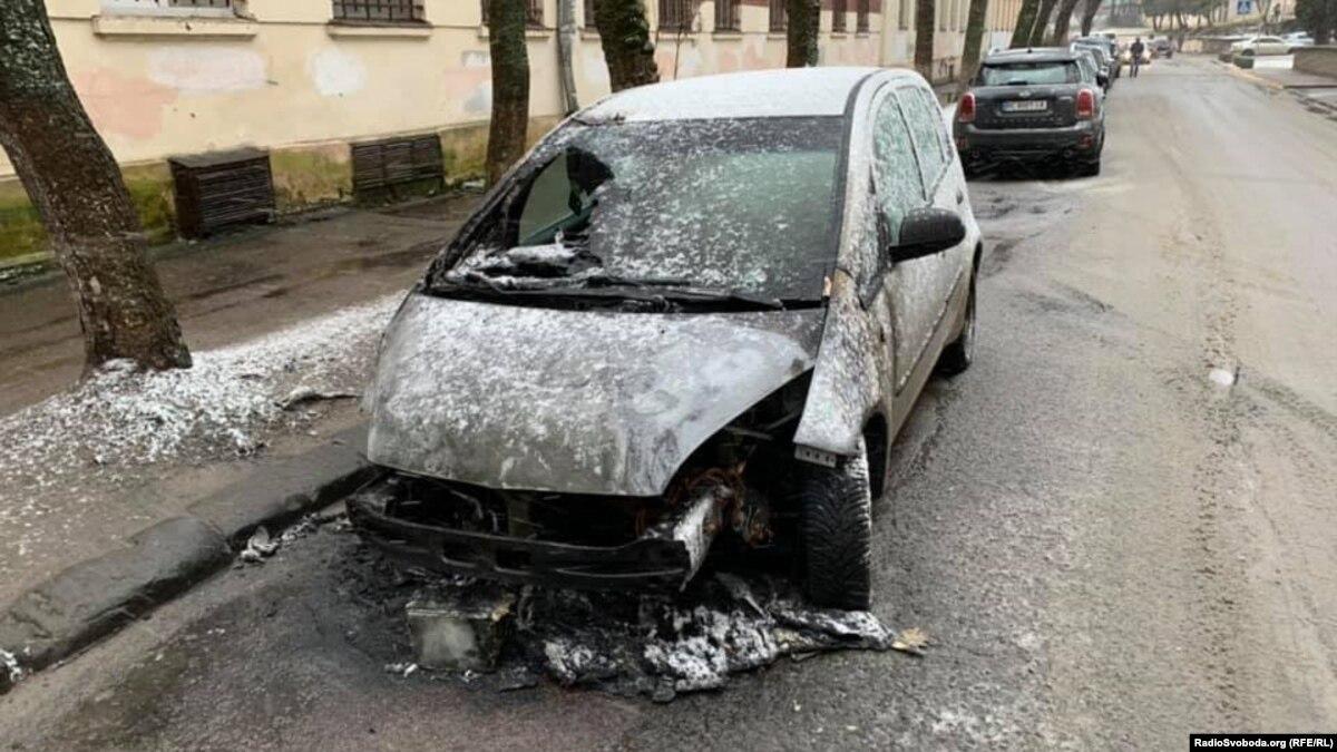 Полиция квалифицировала поджог автомобиля журналистки Радио Свобода как «умышленное уничтожение или повреждение имущества»