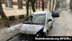 Автомобіль, що належить журналістці Радіо Свобода Галині Терещук, підпалили опівночі 30 січня у Львові. Ніхто не постраждав