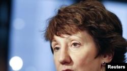 Верховный представитель Евросоюза по международной политике Кэтрин Эштон