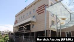 Больница скорой медицинской помощи в Алматы. 18 июля 2016 года.