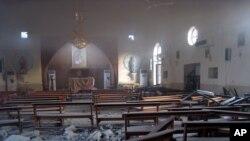 Нападот на сириската католичка црква во 2011 година