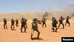 Навчання сирійських урядових військ, недатоване фото державного агентства SANA